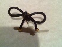 DIY - Anthropologie Inspired Bow Earrings Tutorial