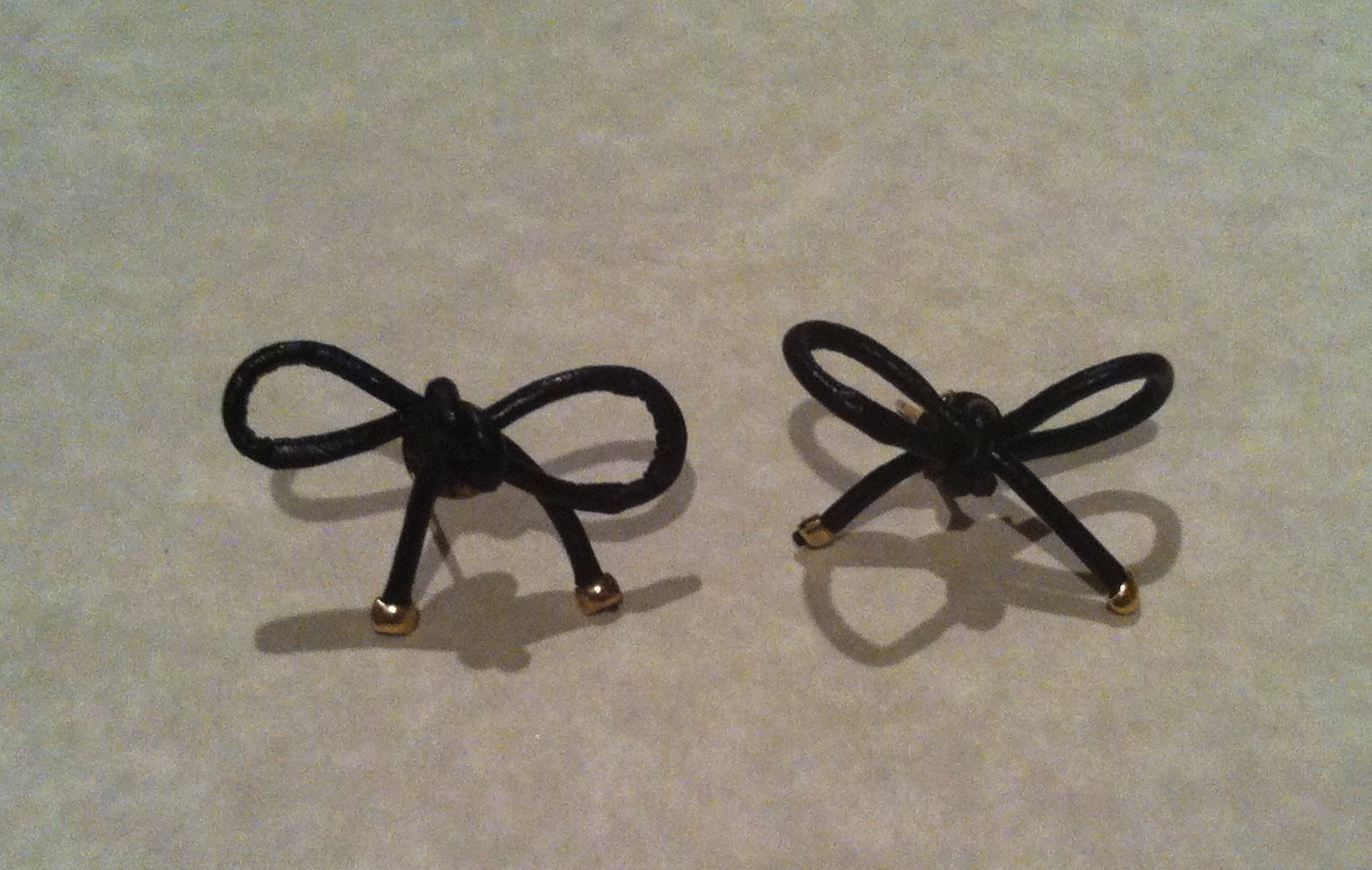 DIY - Anthropologie Inspired Bow Earrings Tutorial