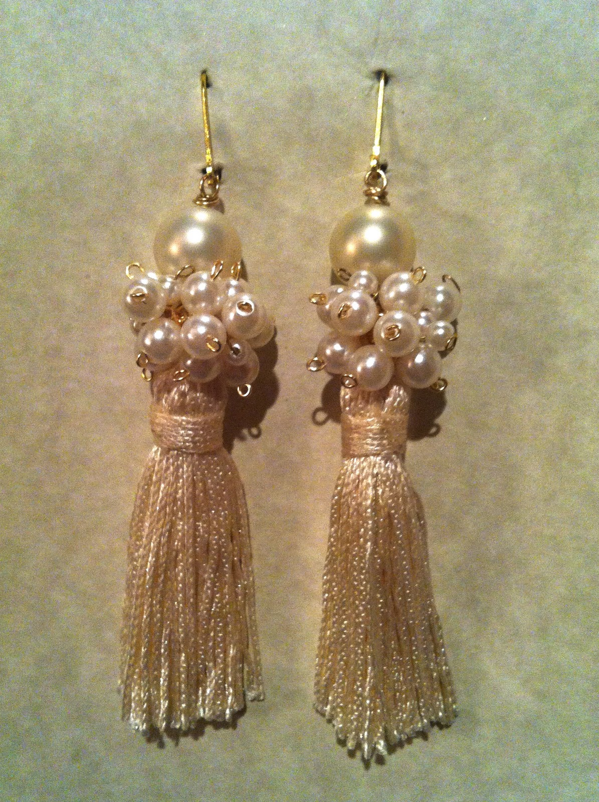 DIY - Anthropologie Inspired Tassel Earring Tutorial