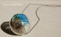 DIY - Peacock Plume Necklace